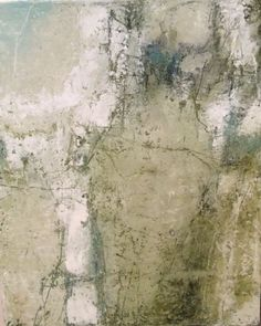 """Contemporary Abstract Art """"The Other Side of the Mountain"""" 16""""x20"""" mixed media by Carole Leslie available at caroleleslieart.com"""
