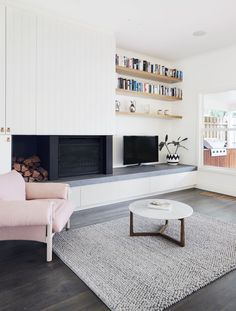 Living Room   Hawthorn East Home by Quinn Architecture   est living
