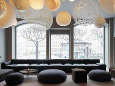 Hotel, Stockholm - Living Room Ideas, Interior Design, Home Design, House Design Design Hotel, House Design, Interior Ikea, Scandinavian Interior, Luxury Interior, Resort Interior, Natural Interior, Cafe Interior, Contemporary Interior