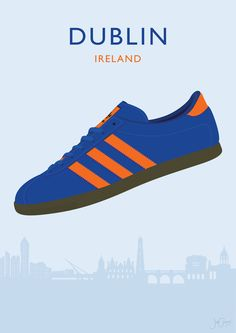 My illustration of the adidas Originals Dublin! Casual Art, Adidas Spezial, Football Outfits, Adidas Gazelle, Adidas Originals, Trainers, Beautiful, Adidas Sneakers, Mens Fashion