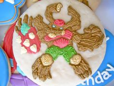 Skylanders Giants cookies by .Oh Sugar Events