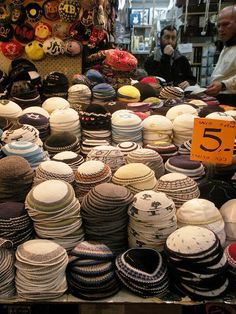 Jerusalem...they come in all colors and sizes!