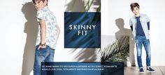 Skinny Fit - Jeans - Rapaz