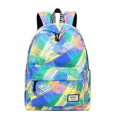 Fashion Women Waterproof Backpack School Bag Personality Printing Large  Capacity Girls Knapsack Back Packs Travelling Bags 1bb790aed2
