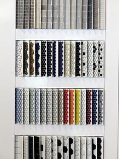 Tile samples at Nemo Tile Company, Inc., in Red Bank,