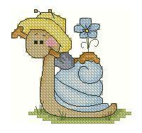 Gallery.ru / Улитка дачная - Мои схемы - fuchsia-flower Cross Patterns, Counted Cross Stitch Patterns, Cross Stitch Charts, Cross Stitch Designs, Cross Stitch For Kids, Mini Cross Stitch, Cross Stitch Animals, Baby Embroidery, Cross Stitch Embroidery