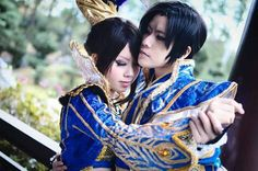 Best couple ♡ Zhen Ji and Cao Pi (DW7) Cosplay