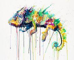 Natural Selection Chameleon  http://www.debutart.com/illustration/dave-white/natural-selection-chameleon#/illustration-portfolio