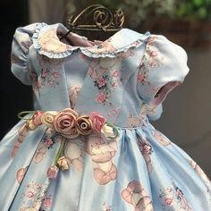 Baby Girl Frocks, Kids Frocks, Frocks For Girls, Dresses Kids Girl, Flower Girl Dresses, Fashion Kids, Toddler Outfits, Girl Outfits, Frock Models