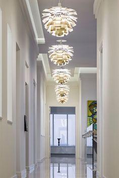 Louis Poulsen artichoke lamps