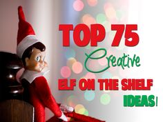OMG, these are the cutest Elf on the shelf ideas, love it! Top 75 Elf On the Shelf Ideas [In Pictures] Christmas And New Year, All Things Christmas, Winter Christmas, Christmas Holidays, Christmas Ideas, Christmas Inspiration, Winter Holidays, Holiday Fun, Holiday Crafts