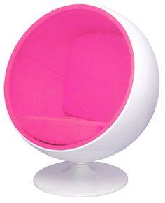 Ball Chair Pink