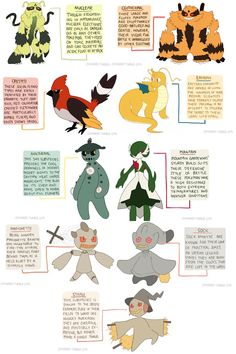 pkmn subspecies commissions 4 by ohnogangsters on DeviantArt
