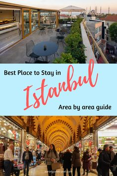 Wondering where is the best place to stay in Istanbul? This post will tell you the best areas to stay in Istanbul with recommendations on bars, food and everything else you need to know for you to make a decision! Top Travel Destinations, Europe Travel Tips, Travel Advice, Asia Travel, Budget Travel, Travel Guides, Places Around The World, Travel Around The World, Istanbul Travel