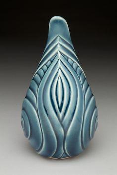 Slant Rimmed Vase