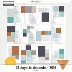 31 days in december 2016   templates