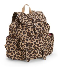 Leopard Print Backpack from Aeropostale