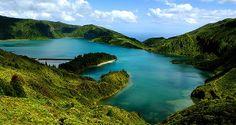 Lagoa do Fogo, Insel São Miguel, Azoren