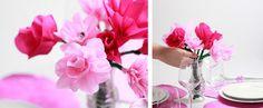 DIY Anleitung: Blumen basteln aus Papier von we love handmade | DaWanda Blog