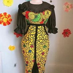 Last attractive Stunning Ankara Gowns - fashionist now African Maxi Dresses, African Fashion Ankara, Latest African Fashion Dresses, African Print Fashion, Africa Fashion, African Attire, African Wear, Ankara Gowns, Ghana Dresses