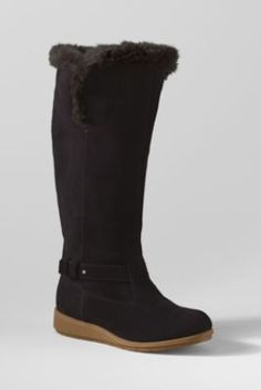 Women's Mendota Tall Boots from Lands' End- love my new boots