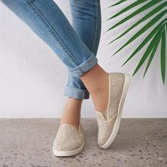 Slip-On Canvas Sneaker Slide | AVON