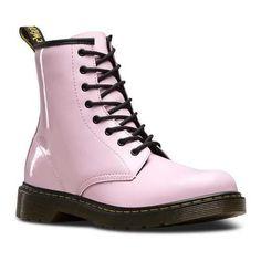 Children's Dr. Martens Delaney Eye Side Zip Boot - Youth Baby Patent Lamper