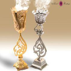 2 mubkhar gold & silver @msdantelboutique