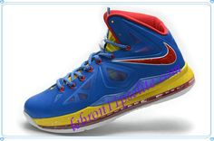 063d0388e62 LeBron X 10s Hyper Blue Sport Red Metallic Gold-A new sample of Lebron 10