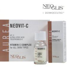 Oggi parliamo del #Neovit-C - Vitamin C Complex for all skin types. Siero in fiale utile per ridurre le rughe, ringiovanire, attivare la produzione di collagene, ridurre le macchie, ridurre l'infiammazione, inibire i danni ossidativi.  Tipo di pelle:  - infiammata - crono e foto aging - arrossata - tendenza alle macchie - invecchiamento del contorno occhi