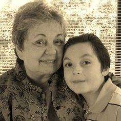 One woman and her grandson use the alphabet to explain personal perspectives on this mild form of autism.