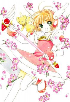 First appearance: Cover of Cardcaptor Sakura DVD Vol. Cardcaptor Sakura, Yue Sakura, Sakura Card Captor, Manga Anime, Anime Art, Yandere, Sailor Moon, Xxxholic, Fanart