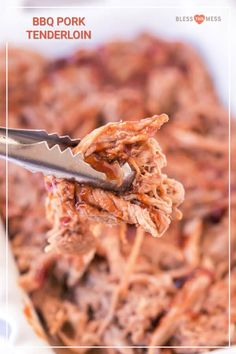 This classic barbecue pulled pork recipe is about to amplify your kitchen game. With a few simple ingredients tossed into the Crock Pot, you'll have smoky, indulgent BBQ Pork Tenderloin in just about 4 hours--or less! Easy Pulled Pork, Bbq Pulled Pork Recipe, Barbecue Pulled Pork, Making Pulled Pork, Bbq Pork Tenderloin, Roast Brisket, Pork Tenderloins, Pork Roast, Friend Recipe
