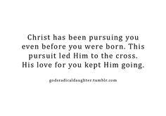 Amen! An unconditional love.