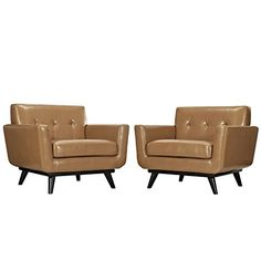 Modway Engage Leather Sofa Set Tan * Be sure to check out this awesome product.Note:It is affiliate link to Amazon. #photooftheday