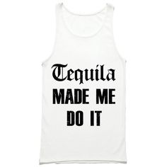 3d5294b854f34c Tequila Made Me Do It Tank Top - Taco Tuesday Shirt - Cinco De Mayo Tank Top  - Funny Party Tank - Drinking Tank Tops - Tacos and Tequila