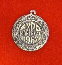 For my friend Maham who lives in Montreal and I go to visit time to time. Expo 67 Montreal, Quebec, Pocket Watch, Charms, Canada, Memories, Lettering, Sterling Silver, Travel