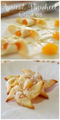 Cookies - Old Family Favorites - Apricot Pinwheel Cookies Christmas Cookies – Old Family Favorites VERY similar to our bow tie cookies. A definite favorite.Christmas Cookies – Old Family Favorites VERY similar to our bow tie cookies. A definite favorite. Easy Christmas Cookie Recipes, Christmas Cookie Exchange, Easy Cookie Recipes, Holiday Recipes, Easy Recipes, Pinwheel Cookies, Yummy Cookies, Holiday Cookies, Baby Cookies