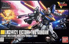 Bandai HGUC 1/144 Scale LM314V21 Victory Two Gundam #Bandai