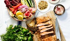 How to cook Persian spiced ocean trout on the BBQ
