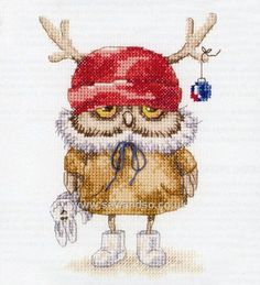Buy Ready For the New Year Cross Stitch Kit Online at www.sewandso.co.uk