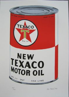 Petr Ptacek New Texaco handsigned Lithograph Old Gas Pumps, Vintage Gas Pumps, Oil Company Logos, Fuel Truck, Pompe A Essence, Old Gas Stations, Pump It Up, Texaco, Old Signs