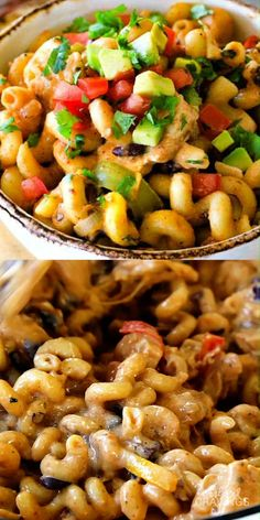 Easy Lightened Up ONE POT CHICKEN FAJITA PASTA bursting with all your favorite fajita flavors/ingredients! The pasta cooks right IN the sauce for simple prep, minimal cleanup, and extra flavooooor. Share with a friend who needs an EASY DINNER this week! Kitchen Recipes, Cooking Recipes, Healthy Recipes, Easy One Pot Meals, One Pot Dinners, One Pot Chicken, Chicken Fajitas, How To Cook Pasta, Pasta Dishes