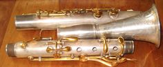 1895 Conn Double Wall High Pitch Metal BB Clarinet RAREST of The RARE | eBay
