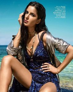 Katrina Kaif Hot Vogue Photoshoot June Check out pictures inside scans of Katrina Kaif Hottest and Sexiest Bikini Photoshoot for Vogue India Magazine June 2016 Issue. She is looking stunning in the swimsuit and bikini photos. Katrina Bikini, Katrina Kaif Bikini Photo, Indian Celebrities, Bollywood Celebrities, Bollywood Actress, Super Hot Photos, Katrina Kaif Images, Wallpaper Collection, Vogue Photoshoot