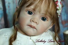 """Sold Out L.E. Wegerich """"Frida"""" toddler reborn by Lullaby Lane Studio-copper hair"""