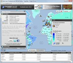 Create your custom Maps using TargetMap to use in your PowerPoint presentations and PPT templates