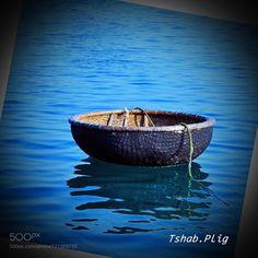 """Basket boat - moving by """"Food-engine"""" by Tshab_Plig"""