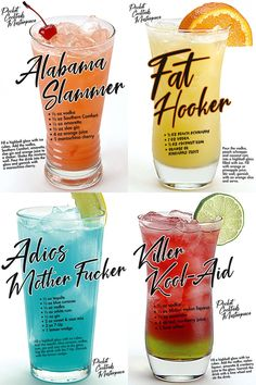Liquor Drinks, Cocktail Drinks, Cocktail Recipes, Beverages, Acholic Drinks, Mixed Drinks Alcohol, Alcohol Drink Recipes, Alcoholic Punch Recipes, Fruity Mixed Drinks