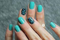 Cómo hacer una bonita decoración de uñas paso a paso   Principiantes   Cuidar de tu belleza es facilisimo.com
